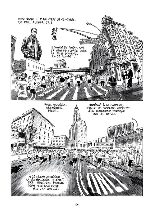 Extrait 0 : Le Marathon de New York à la petite semelle