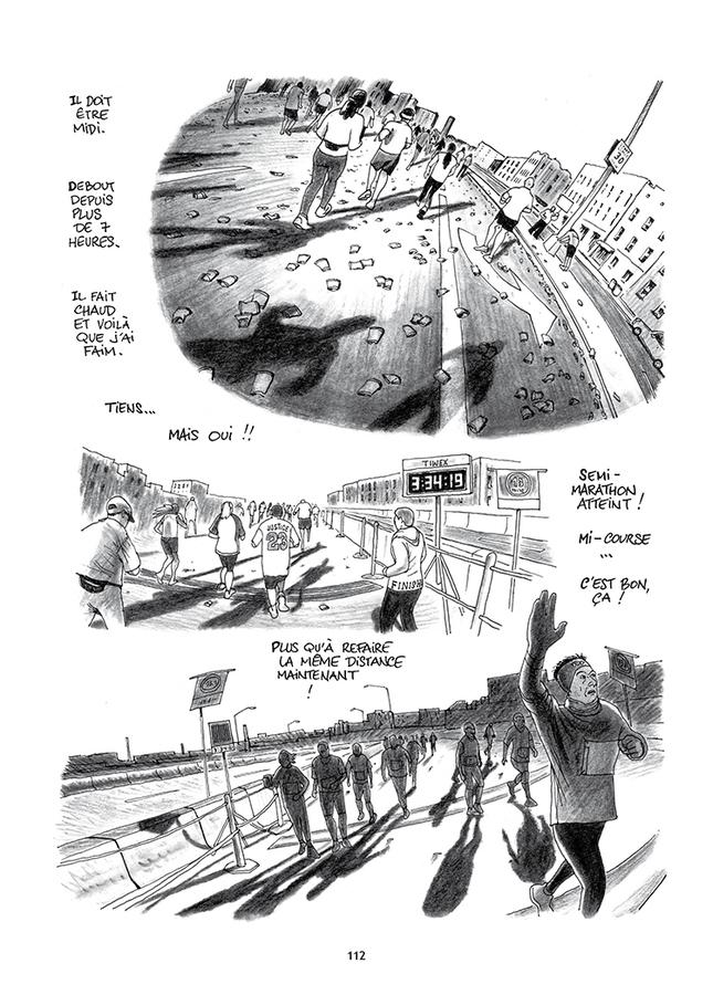 Extrait 6 : Le Marathon de New York à la petite semelle