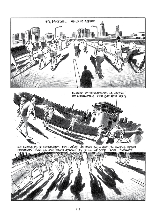 Extrait 7 : Le Marathon de New York à la petite semelle