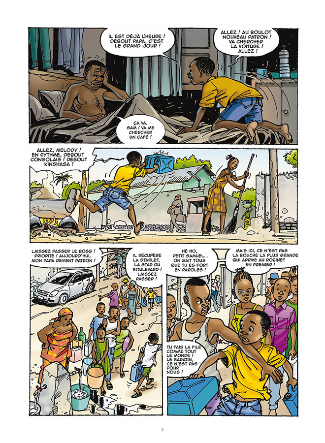 Extrait 1 : Mbote Kinshasa, Article 15