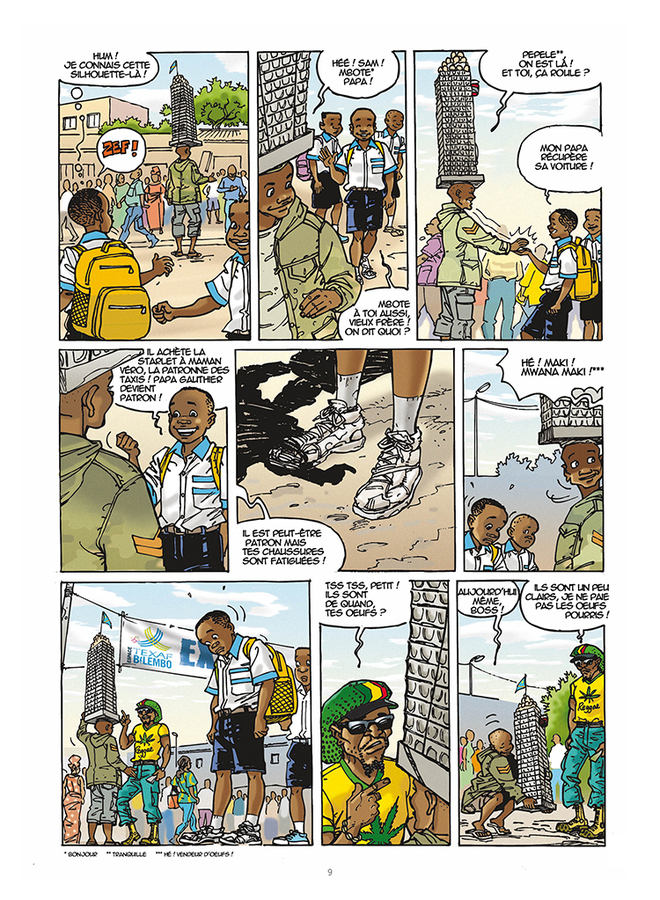 Extrait 5 : Mbote Kinshasa, Article 15
