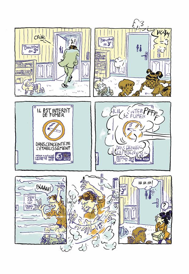 Extrait 5 : La Petite fille et la cigarette