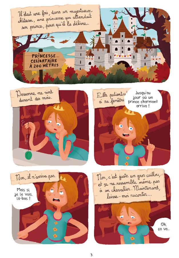 Extrait 0 : Princesse Libellule T3 : Déteste les contes de fées