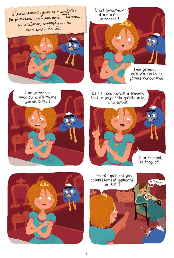 Extrait 2 : Princesse Libellule T3 : Déteste les contes de fées