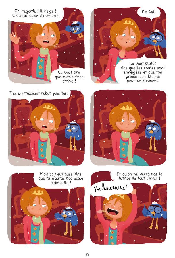 Extrait 7 : Princesse Libellule T3 : Déteste les contes de fées