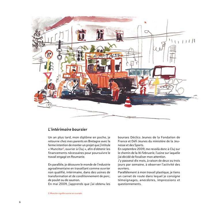 Extrait 3 : 16 Februarie, Romania : [Carnet d'observation] d'une usine Roumaine
