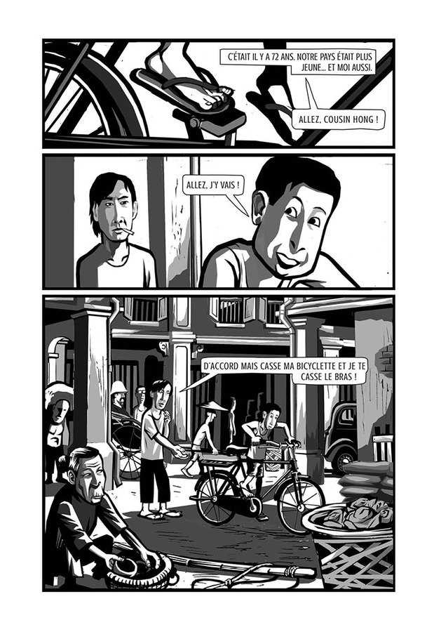 Extrait 9 : La Bicyclette