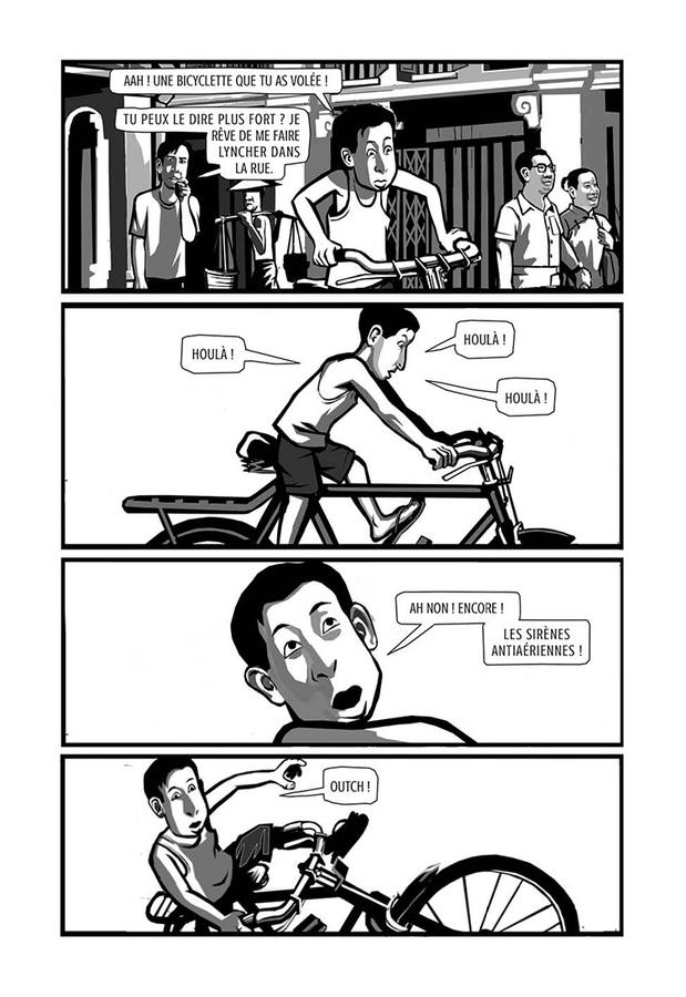Extrait 10 : La Bicyclette