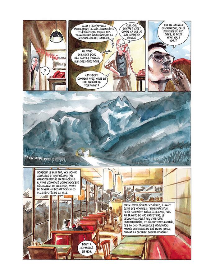 Extrait 5 : Mémoires de viet kieu : Les linh tho, immigrés de force