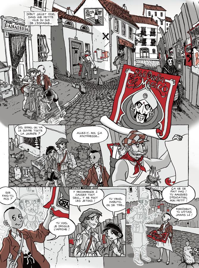 Extrait 0 : Les Fantômes de Ermo - Numérique T1 : Le Magicien