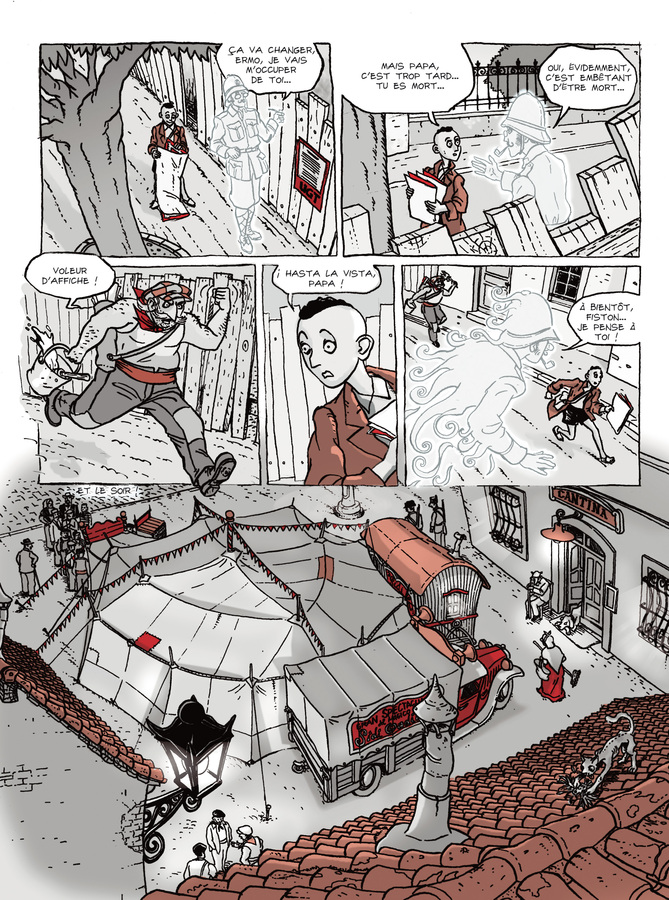 Extrait 1 : Les Fantômes de Ermo - Numérique T1 : Le Magicien