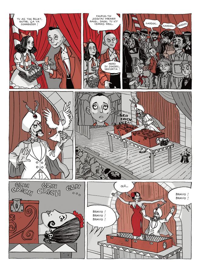 Extrait 3 : Les Fantômes de Ermo - Numérique T1 : Le Magicien