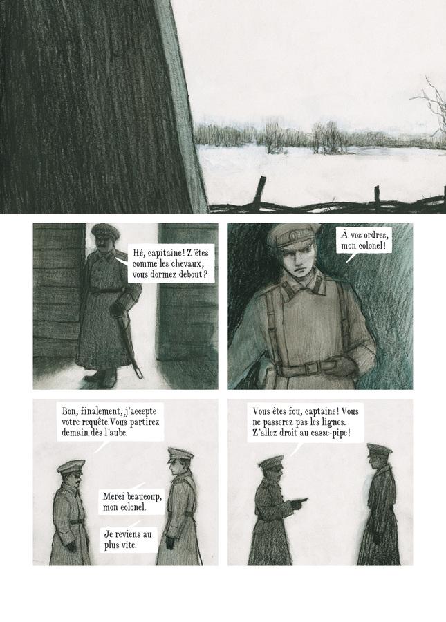 Extrait 2 : Capitaine Tikhomiroff - Numérique T1 : Les Guerres