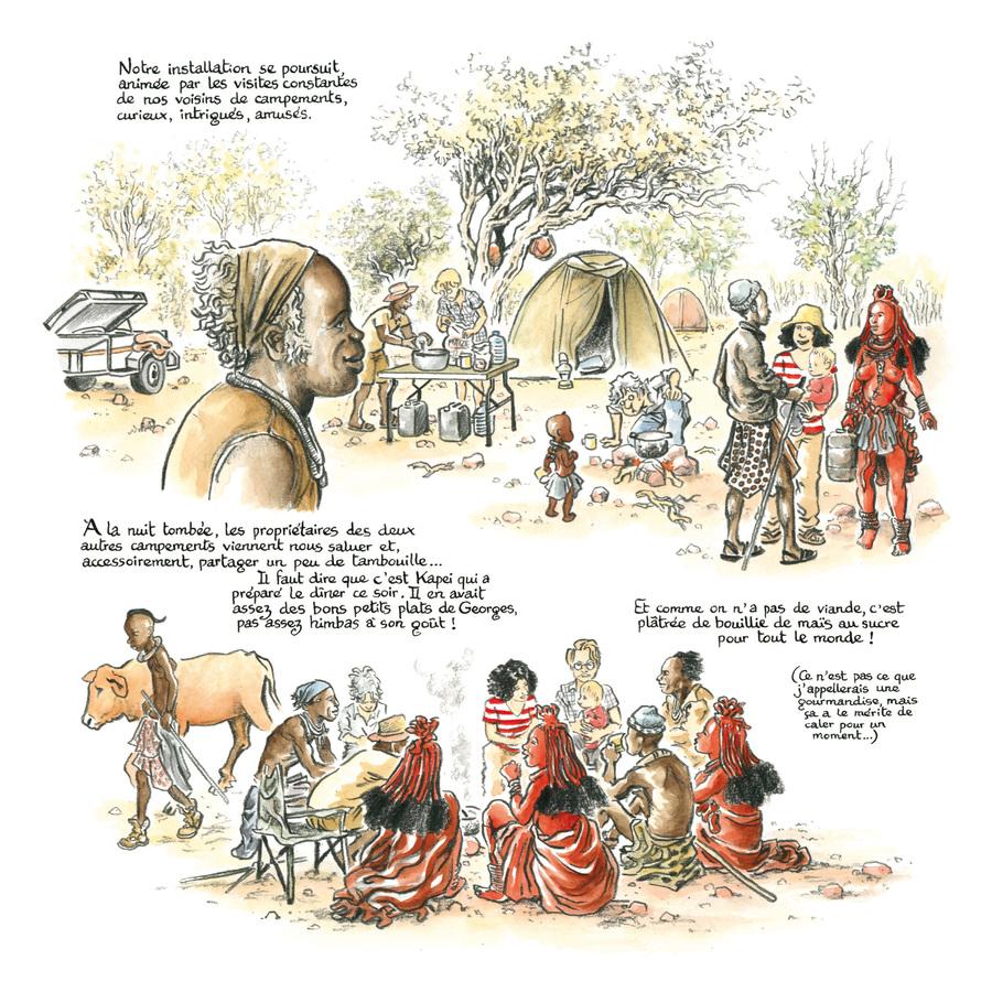 Extrait 1 : Rouge Himba - Numérique T2 : Carnet d'amitié avec les éleveurs nomades de Namibie