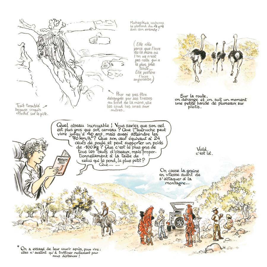 Extrait 0 : Rouge Himba - Numérique T3 : Carnet d'amitié avec les éleveurs nomades de Namibie