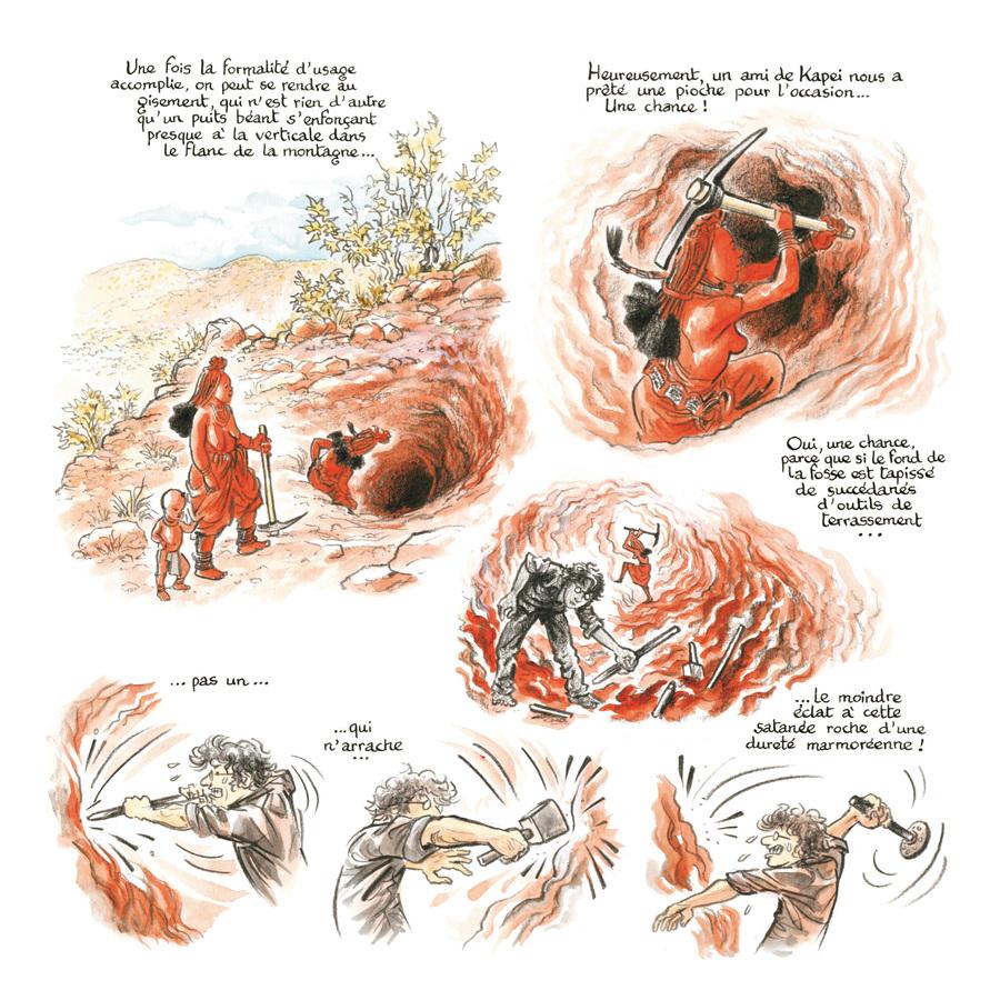 Extrait 3 : Rouge Himba - Numérique T3 : Carnet d'amitié avec les éleveurs nomades de Namibie