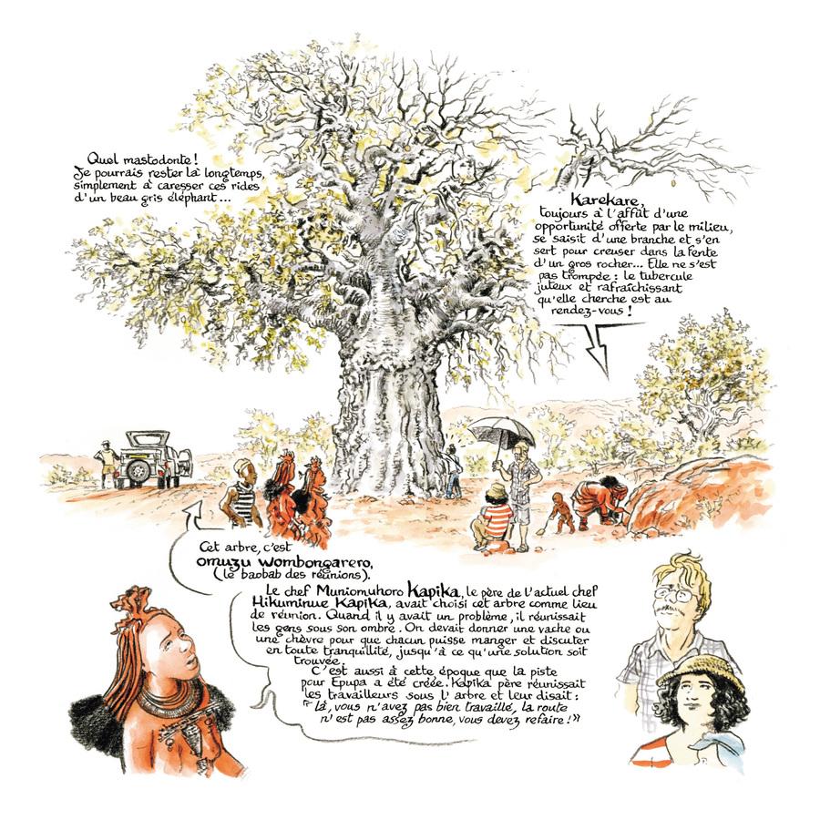 Extrait 1 : Rouge Himba - Numérique T4 : Carnet d'amitié avec les éleveurs nomades de Namibie