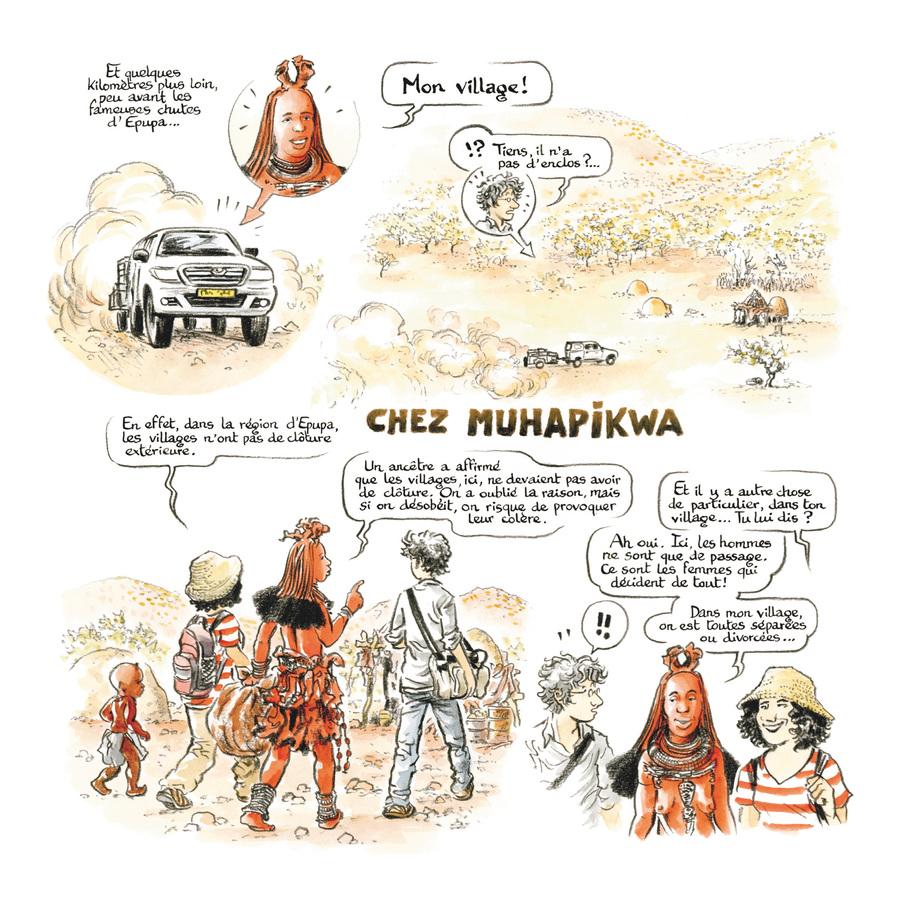 Extrait 2 : Rouge Himba - Numérique T4 : Carnet d'amitié avec les éleveurs nomades de Namibie