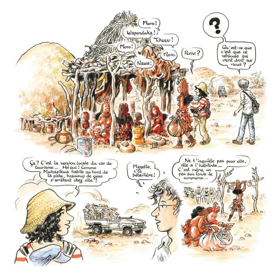 Extrait 3 : Rouge Himba - Numérique T4 : Carnet d'amitié avec les éleveurs nomades de Namibie