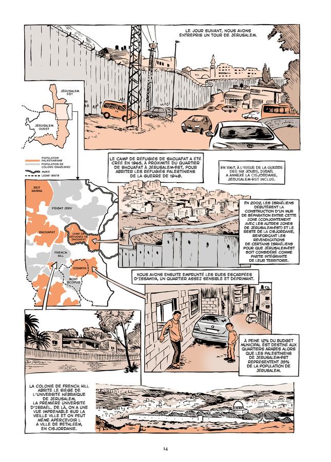Extrait 3 : Vivre en terre occupée - Numérique : un voyage en Palestine de Naplouse à Gaza