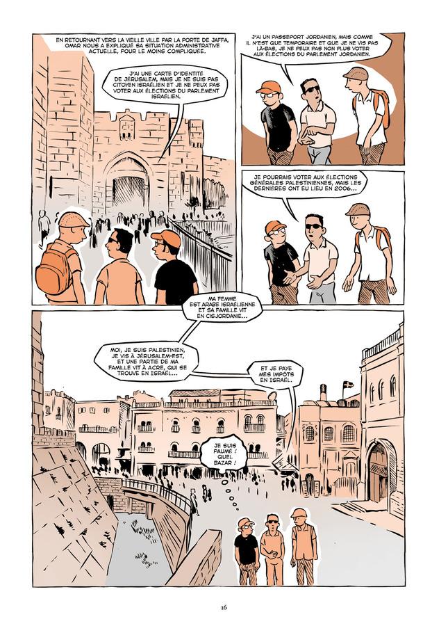 Extrait 5 : Vivre en terre occupée - Numérique : un voyage en Palestine de Naplouse à Gaza
