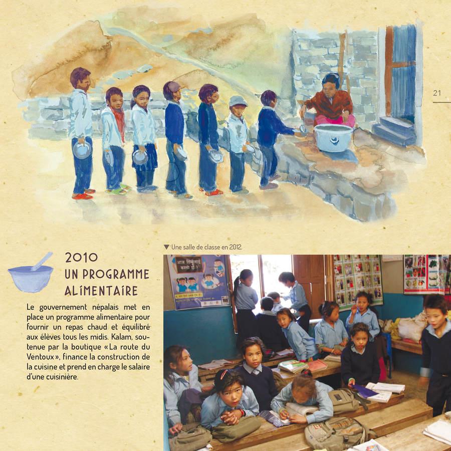 Extrait 3 : Debout Népal : Carnet de route d'une école à reconstruire