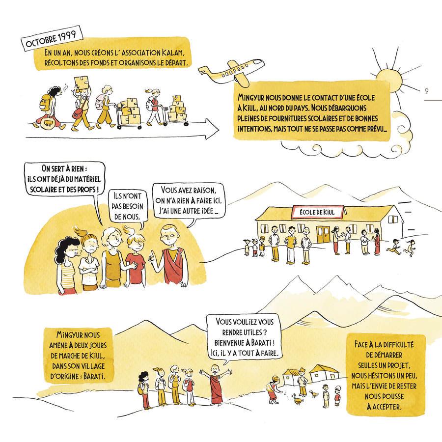 Extrait 1 : Debout Népal : Carnet de route d'une école à reconstruire