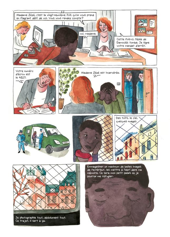 Extrait 1 : La Ballade des dangereuses : Journal d'une incarcération