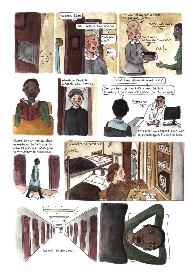 Extrait 7 : La Ballade des dangereuses : Journal d'une incarcération
