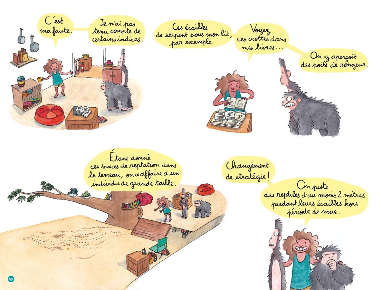 Extrait 7 : Jeanne, détective de la jungle