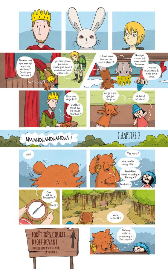 Extrait 2 : Raven et l'ours - Numérique T2