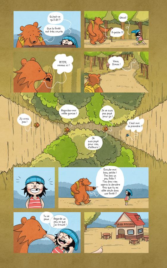 Extrait 3 : Raven et l'ours - Numérique T2