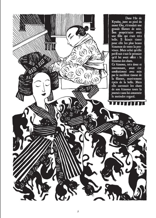 Extrait 0 : Le Chat du kimono T1 : Le Chat du Kimono