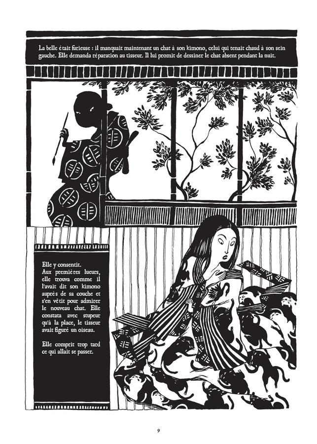 Extrait 4 : Le Chat du kimono T1 : Le Chat du Kimono