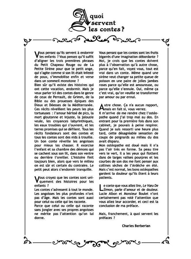 Extrait 8 : Le Voeu de... : Le Voeu de Simon