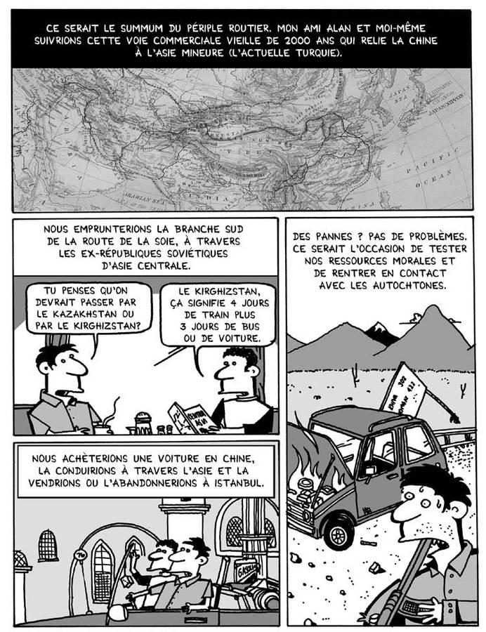 Extrait 2 : La Route de la soie... en lambeaux
