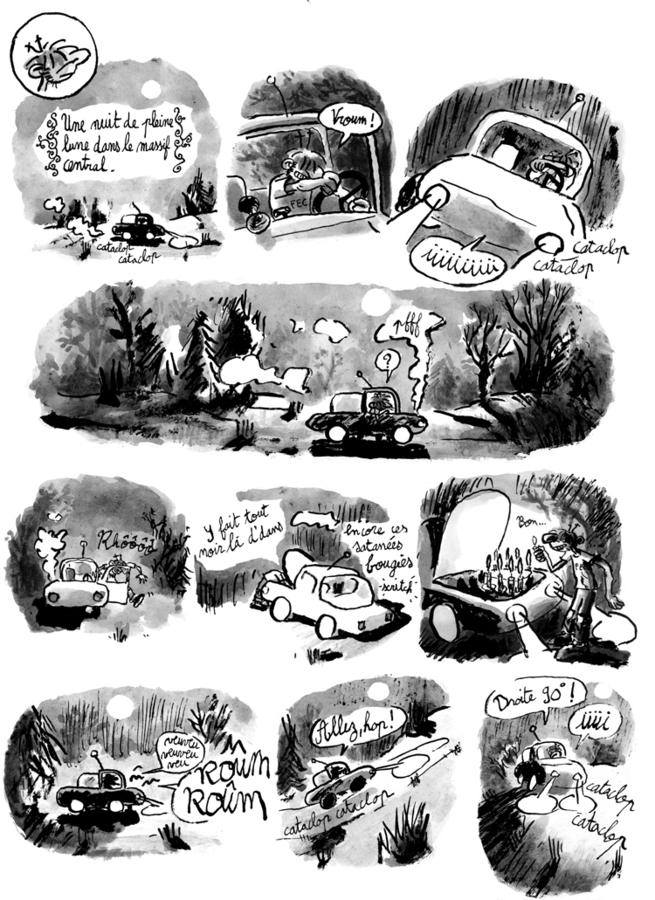 Extrait 1 : Une Aventure de Machin : La Bête qui mangeait tout le monde
