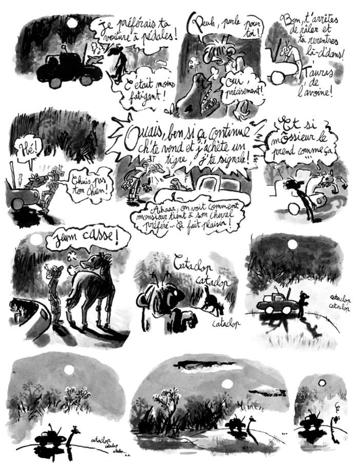 Extrait 3 : Une Aventure de Machin : La Bête qui mangeait tout le monde
