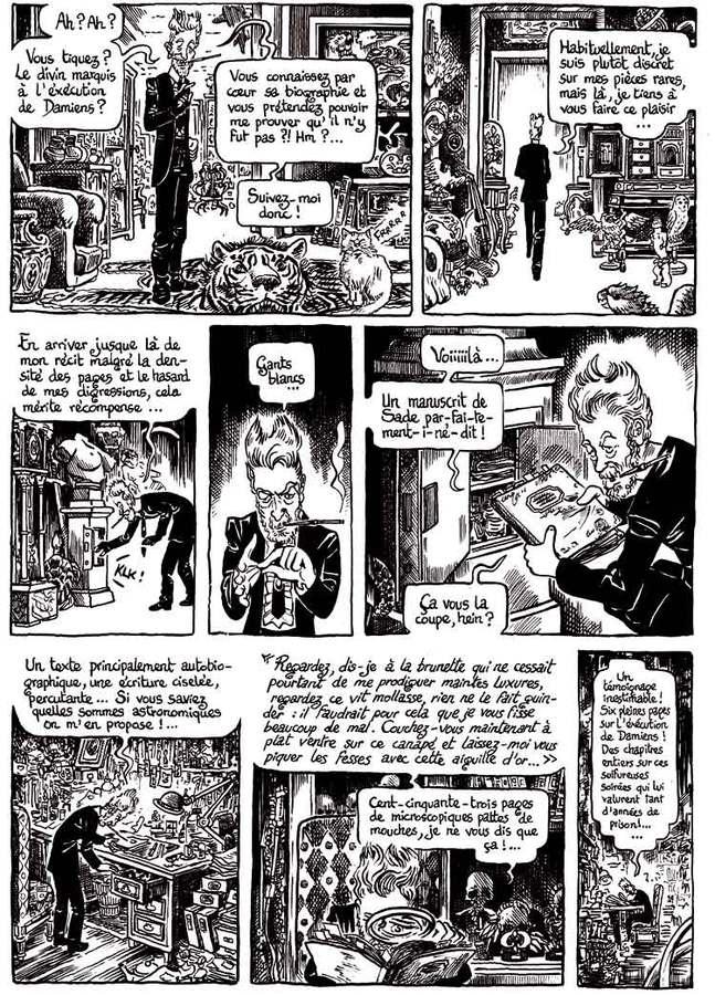 Extrait 6 : Le Musée insolite de Limul Goma V1 : Hautes Oeuvres - Petit Traité d'humanisme à la française N&B