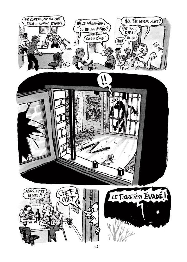 Extrait 2 : Une Aventure de Machin : La nuit du mystérieux Chien-garou