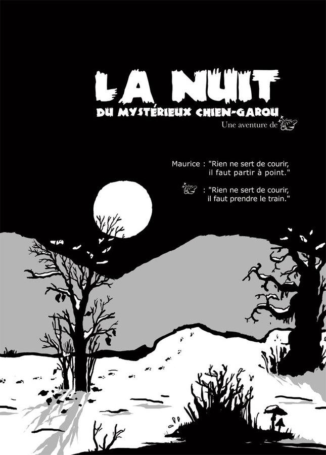 Extrait 3 : Une Aventure de Machin : La nuit du mystérieux Chien-garou