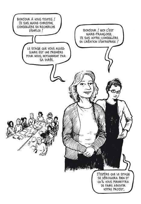 Extrait 1 : Femmes en voie de resociabilisation : Résurgences